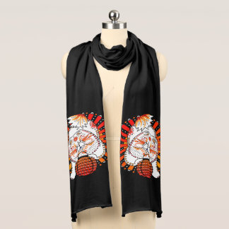 BINDI MI TANG -  Chow - Year of the Dog scarf