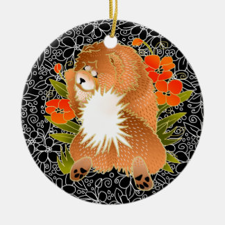 BINDI MINGSIE CHOW ORNAMENT