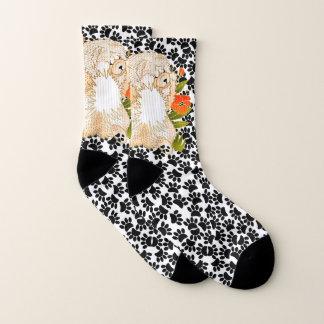 BINDI MINGSIE Cream Chow -   socks 1