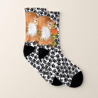 BINDI MINGSIE Red  Chow -   socks 1