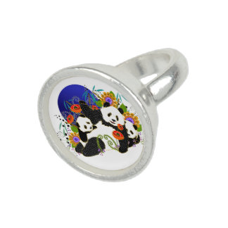 BINDI PANDAS-  Ring - Choose size