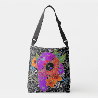 BINDI ROUGH CHOW crossbody or tote-2 sizes Crossbody Bag