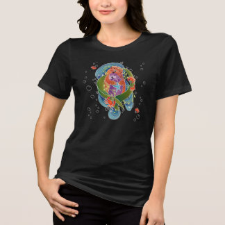 BINDI Sea Otters shirt -choose style & DARK color