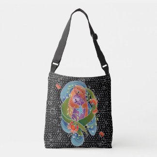BINDI Sea Otters tote bag or cross body bag