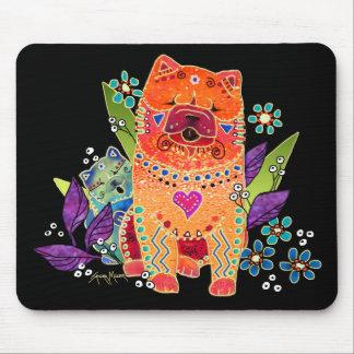 BINDI SMOOTH CHOW mousepad