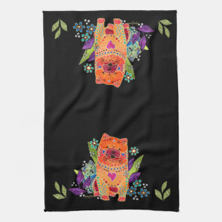 BINDI smooth chows kitchen towel