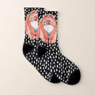 BINDI SOPHIE- apricot version Chow -   socks 1