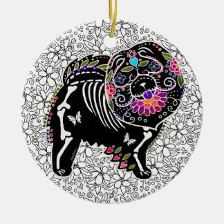 BINDI SUGARSKULL Chow - Ornament