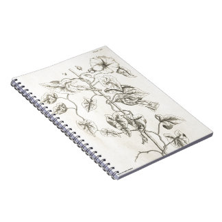 Bindweed Spiral Notebook