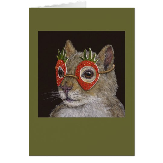 Bing the squirrel card