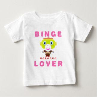 Binge Lover-Cute Monkey-Morocko Baby T-Shirt