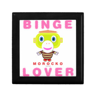 Binge Lover-Cute Monkey-Morocko Gift Box