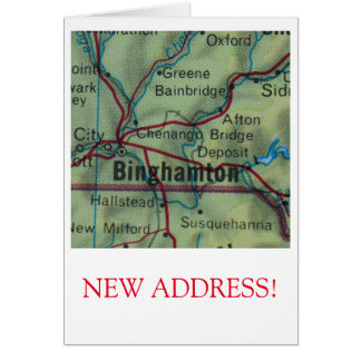 Change of address note cards change of address notecards for Change of address note cards