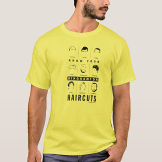Binghamton NY - know your haircuts T-Shirt