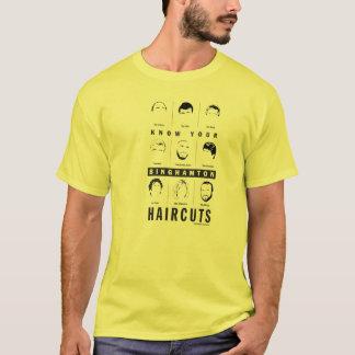 Binghamton NY - know your haircuts T-Shirt