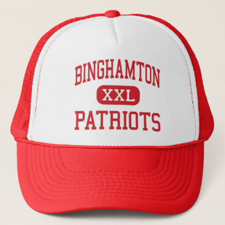 Binghamton - Patriots - High - Binghamton New York Trucker Hat