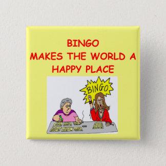 bingo 2 inch square button