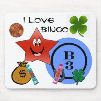 BINGO B3 MOUSE PAD