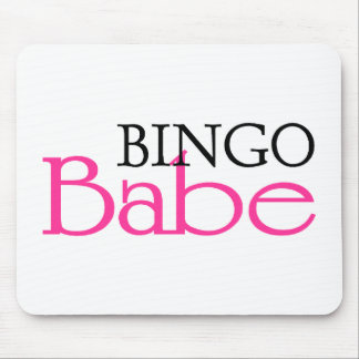 Bingo Babe Mousepads