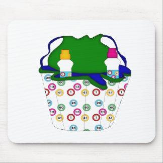 bingo bag mouse pad