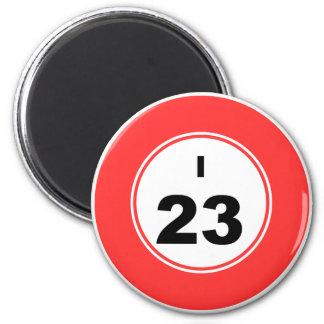 Bingo Ball I 2 Inch Round Magnet