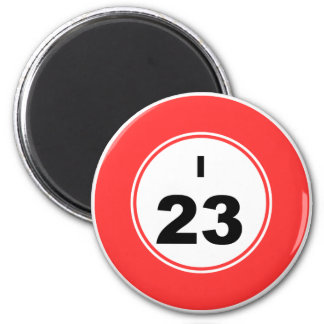 Bingo Ball I Magnet