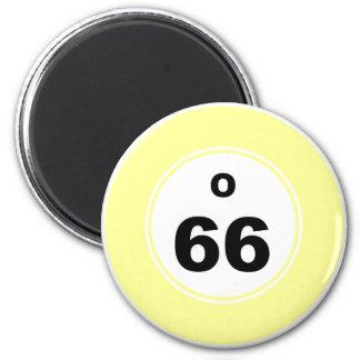 Bingo Ball O 2 Inch Round Magnet