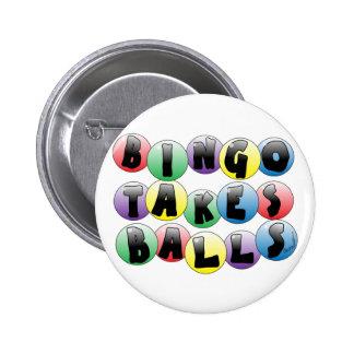 Bingo Balls Pins