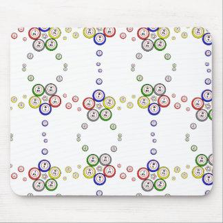 Bingo Balls Mouse Pads