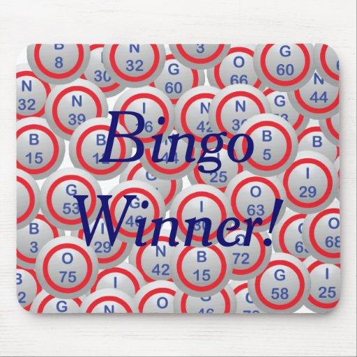 Bingo Balls Mousepads