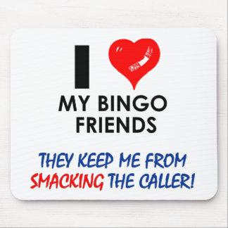 BINGO Bingo designs for the fabulous player Mouse Pad