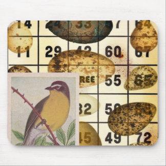Bingo Bird Mouse Pad