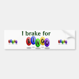 Bingo Bumper Sticker