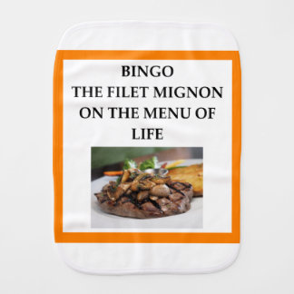 BINGO BURP CLOTH