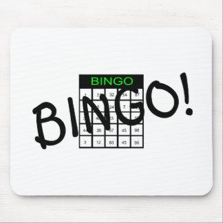 Bingo Card Mouse Pads
