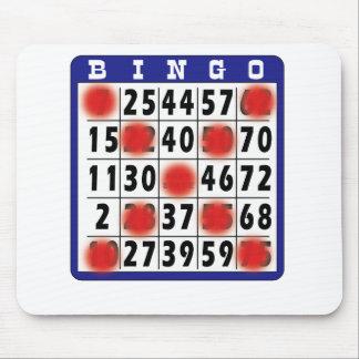 Bingo Card - Pad Mouse Pads
