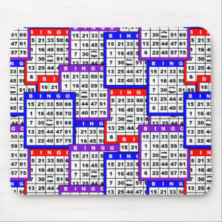 Bingo Cards Mouse Pad
