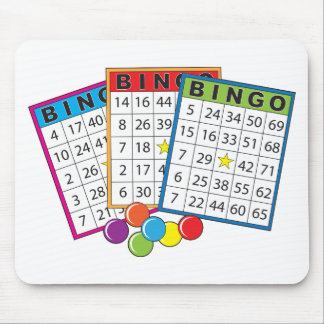Bingo Cards Mouse Pads