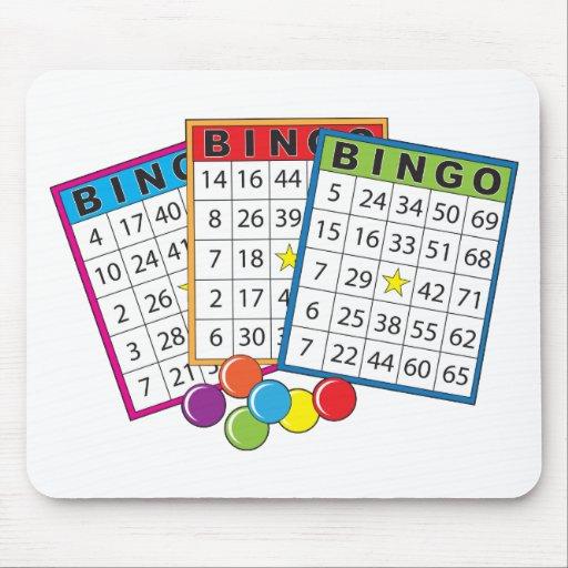 Bingo Cards Mouse Pads