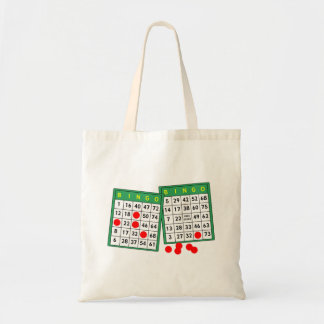 Bingo Cards Tote Bag