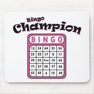 Bingo Champion Mouse Pad