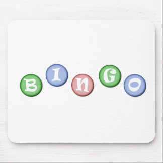 Bingo Chips Mouse Pad