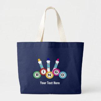 Bingo (customizable) large tote bag