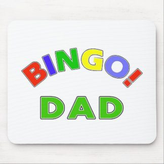 Bingo Dad Mouse Pads
