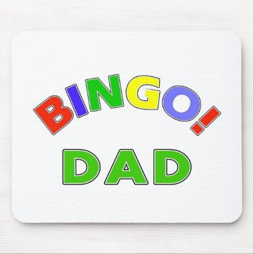 Bingo Dad Mouse Pads