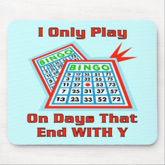Bingo Days Mouse Pad