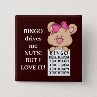Bingo Drives Me button