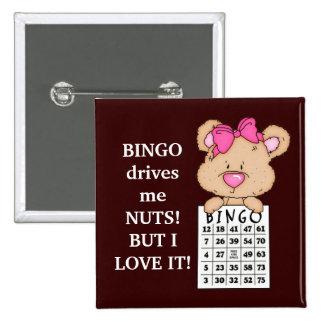 Bingo Drives Me button