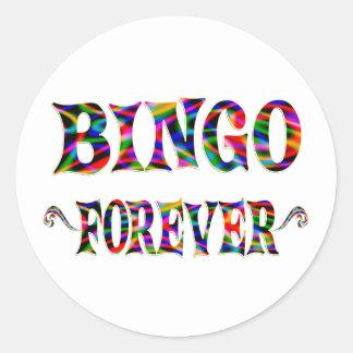 BINGO Forever Classic Round Sticker