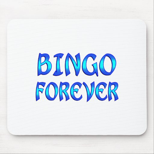 Bingo Forever Mouse Pad
